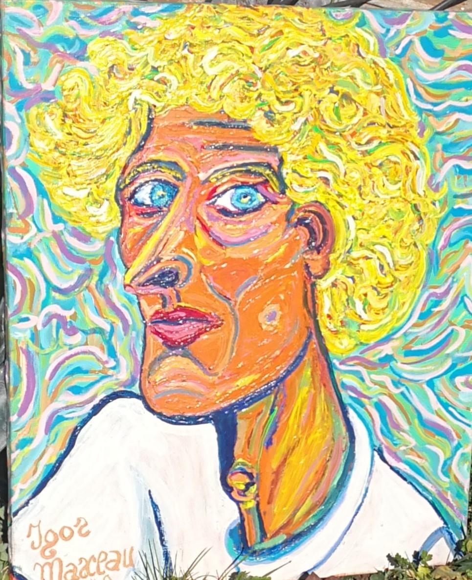 Igor Marceau - Autoportrait de jeunesse