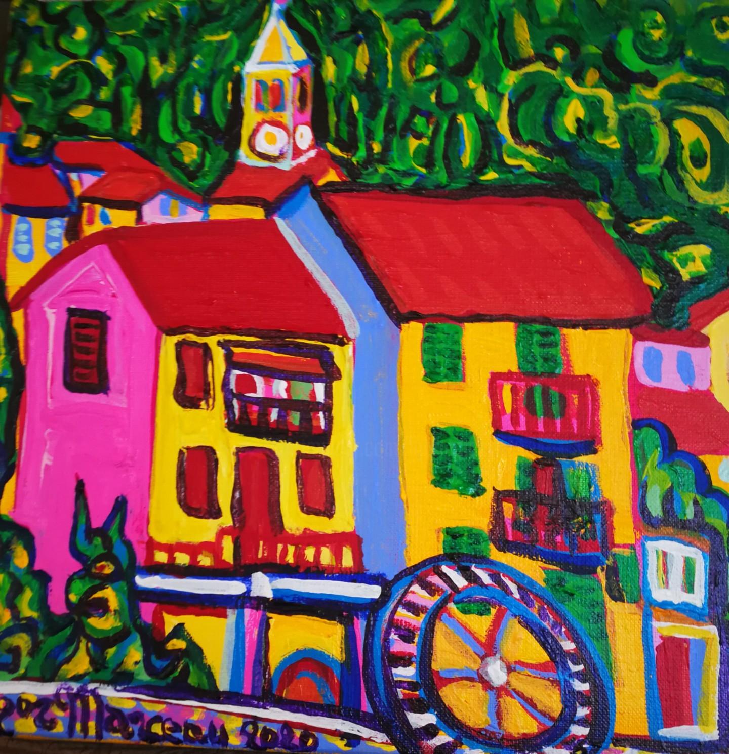 Igor Marceau - Le moulin du pra d'Agout