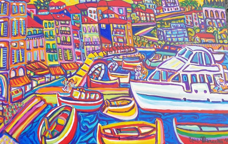 Igor Marceau - Le port de Villefranche