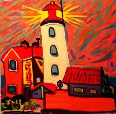 Le phare d'Urk en Frizland
