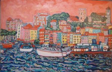 Cannes,le suquet et le quai St Pierre