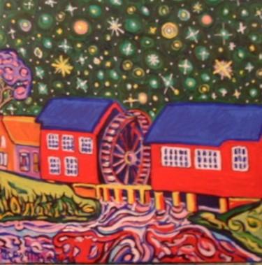 Nuit d'hiver au moulin d'Opweten