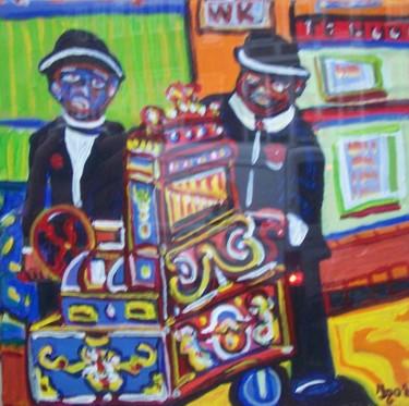 joueurs d'orgue de Barbarie à Joordan