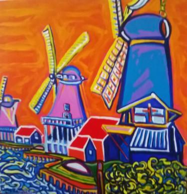 3 moulins,dans la redoute Zanoise. Hollande