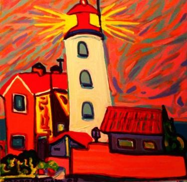 Le phare d'Urk en Frizland. Pays Bas