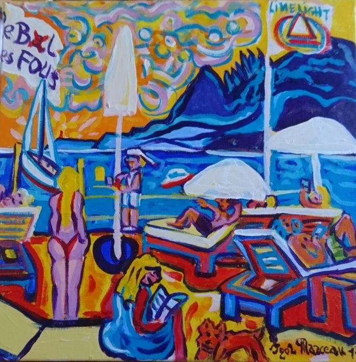 Igor Marceau - Sur le ponton du Palm Beach. Cannes