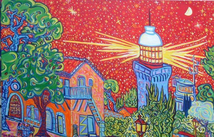 Igor Marceau - Le phare de la Garoupe