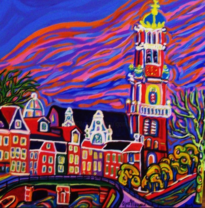 Igor Marceau - Amsterdam, église de l'ouest