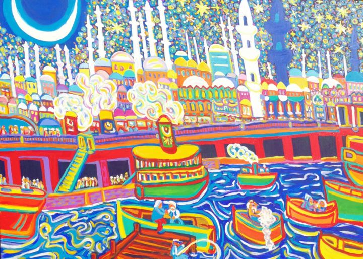 Igor Marceau - Le pont de Galata