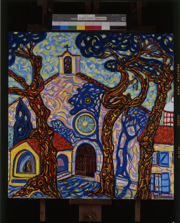 Igor Marceau - La chapelle de la Garoupe