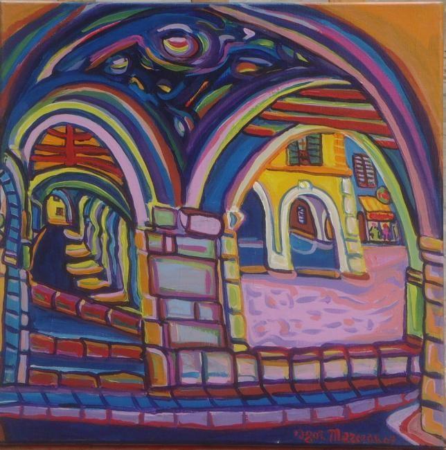 Igor Marceau - Valbonne.à l'ombre des arcades
