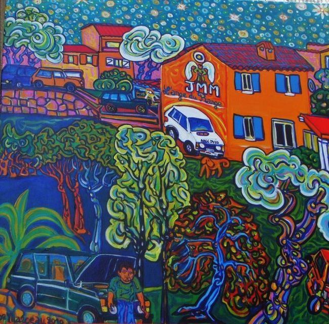 Igor Marceau - la maison Orange-Rovers