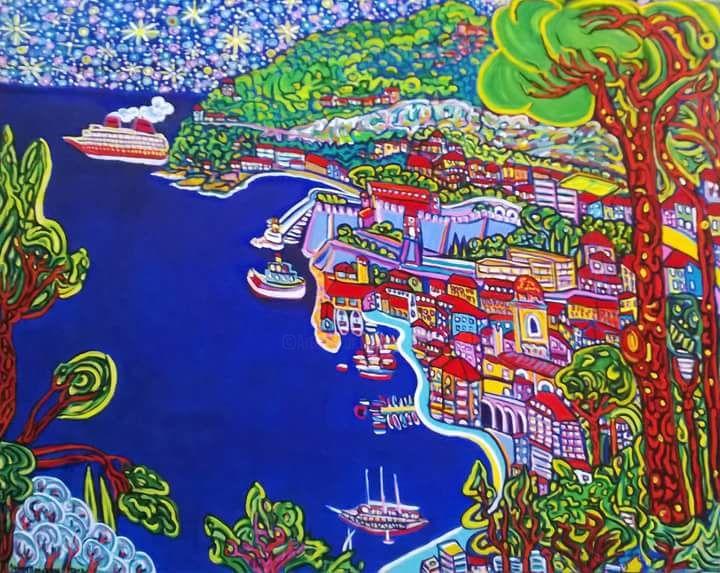 Igor Marceau - La baie de Villefranche sur mer